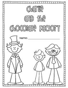 charlie and chocolate factory vocabulary cover page