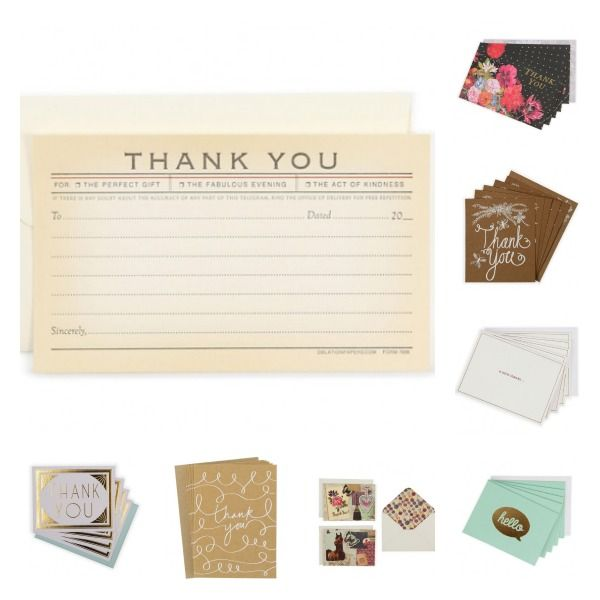 paperchase thank you cards  stationery paper handmade uk