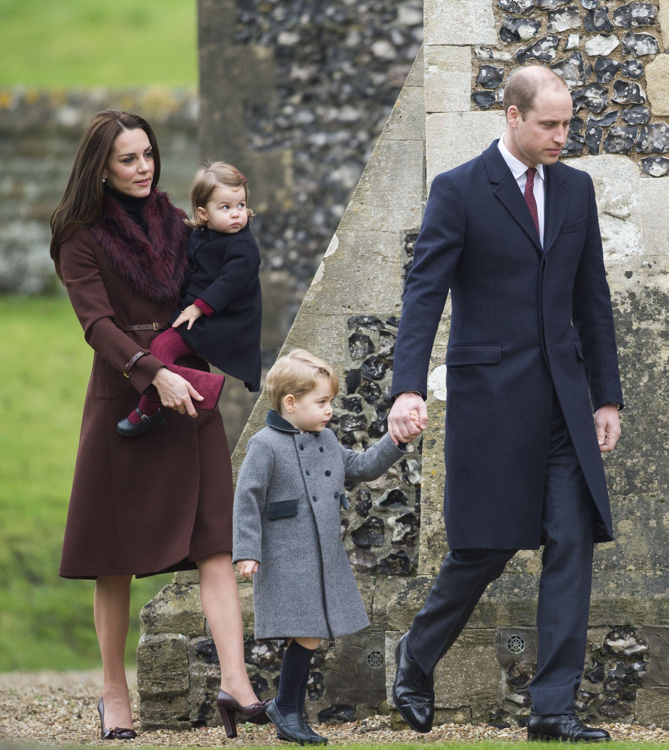 Bucklebury berkshire december 25 prince william duke of cambridge catherine