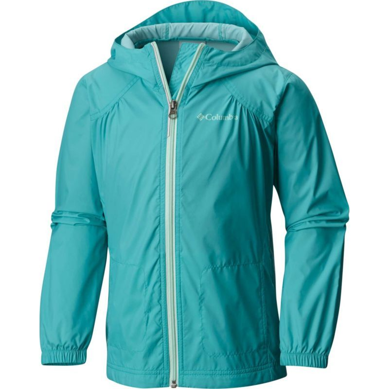 bcdd91d25 Columbia Girls' Switchback Rain Jacket, Size: Medium, Green