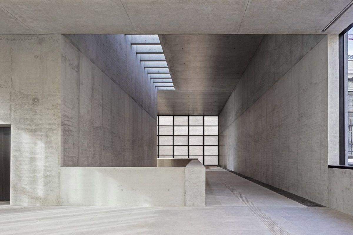 David Chipperfield Architects Opens James Simon Galerie On Berlin S Museum Island David Chipperfield Architects Museum Interior Museum Island