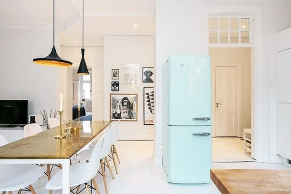 Frigorifero Smeg anni \'50 | Interiors, Kitchen dining and Tables