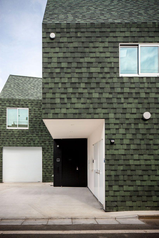 starpilots wraps japanese housecut in dark green shingles