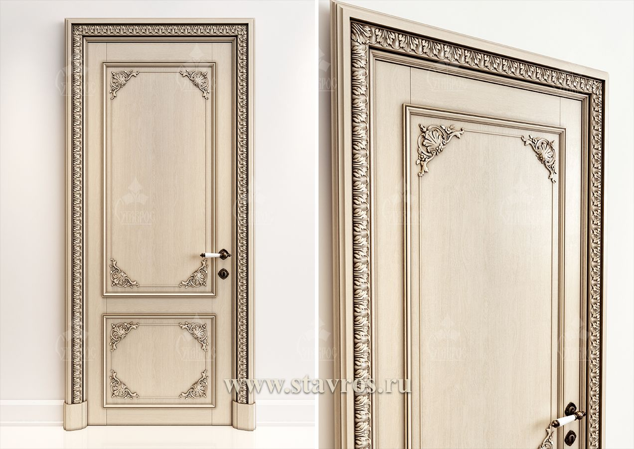 Резная дверь GRD-043 - Фото - Ставрос | мебель | Pinterest