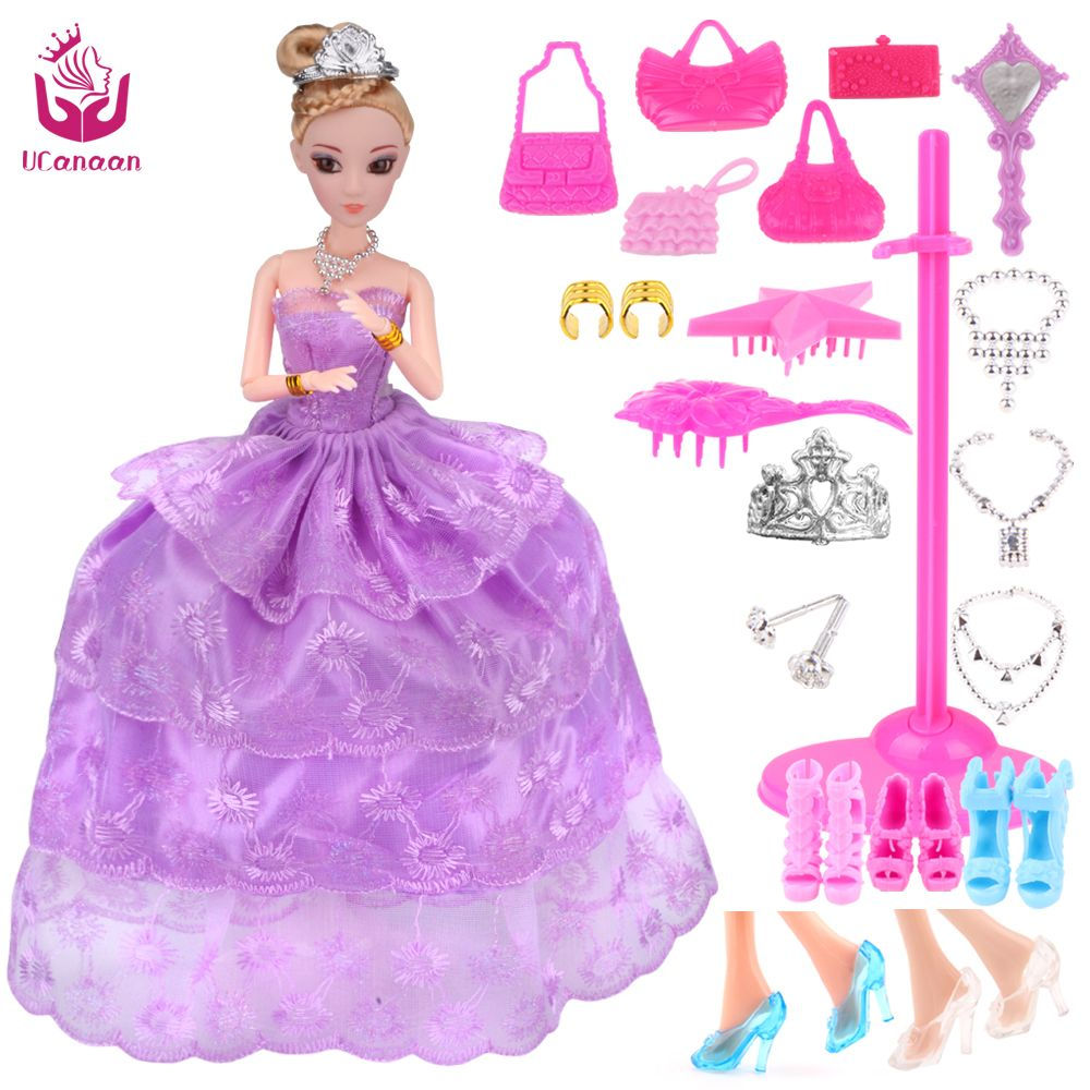 Lilac dress for wedding  UCanaan  New Favorite Princess Doll Fashion Party Wedding Dress