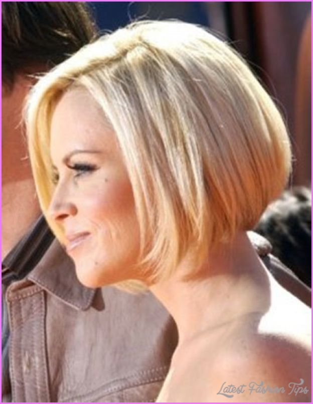 Awesome Jenny Mccarthy Bob Haircut Back View Hair Pinterest
