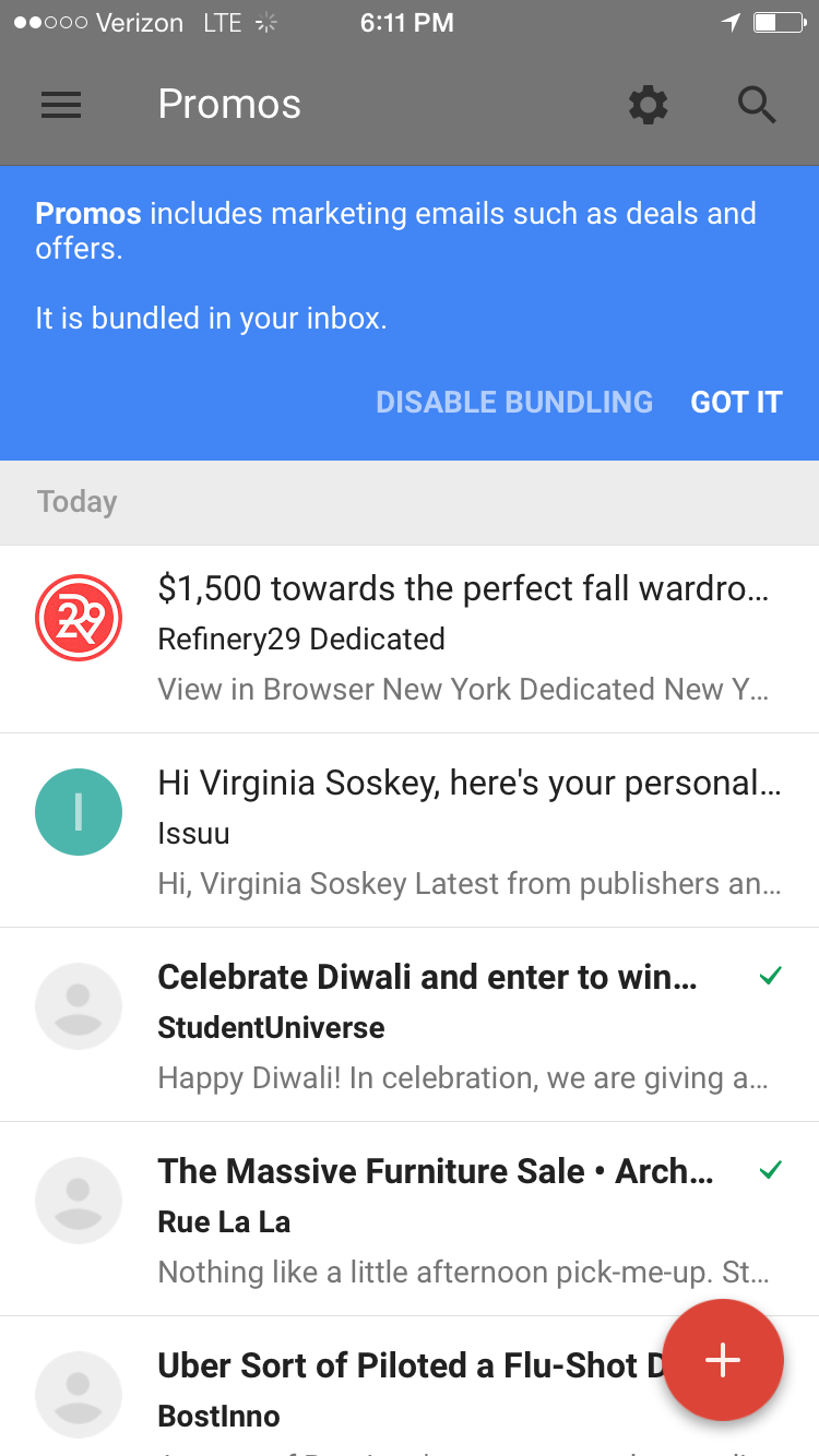 Google Unveils 'Inbox,' a New App to Change How You Manage