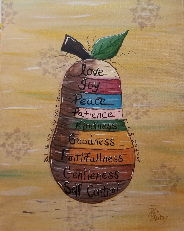 Fruits of spirit 2018 handmade joy creation