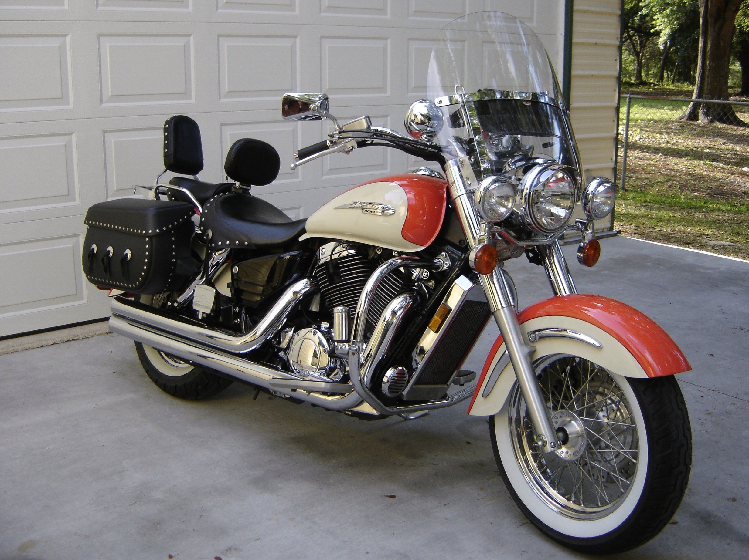 my ride 1999 honda shadow aero 1100 [ 2467 x 1846 Pixel ]