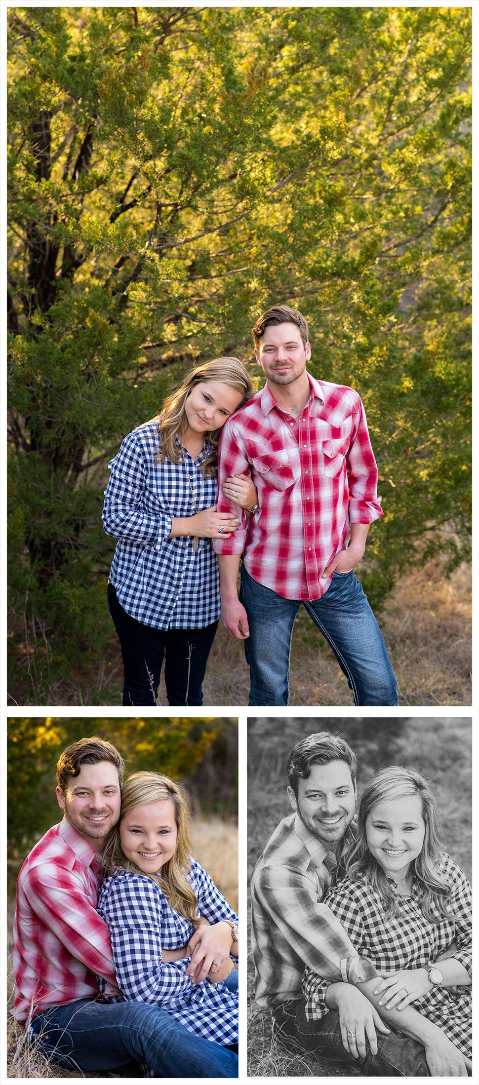 DFW Fort Worth Aledo photographer Angela Wynn photography: engagement session, cute, field, quilt, back light, gorgeous, love, styled, fun, nature, portrait ideas, beautiful, photography, creative, unique, couples ideas, engagements, young love, classy,