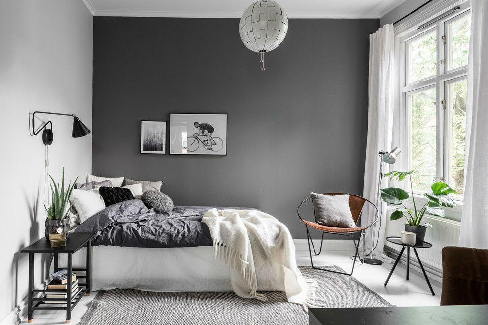 23 Soothing Scandinavian Bedroom Designs Grey Decor Design Home