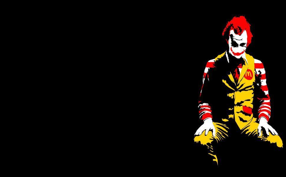 Ronald Mcdonald Joker Hd Wallpaper Wallpapers