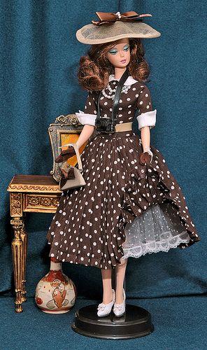 "Silkstone Barbie Wearing DAE's ""Fashion Snapshot"" by cj33, via Flickr"
