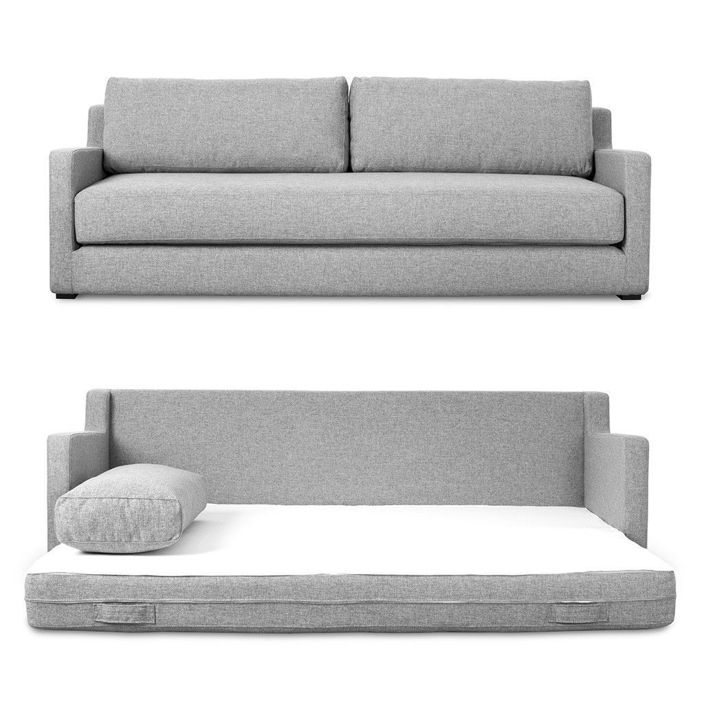 A Fairly Shallow Sofa That Doubles As An Extra Bed Century House In Madison Carries Gus Modern Furniture