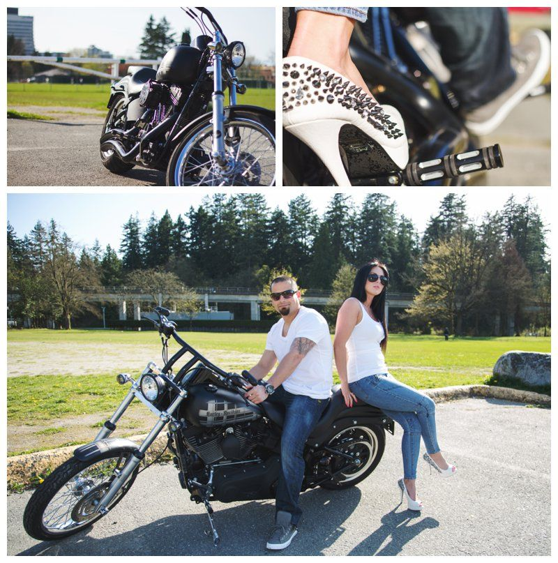 Pin By Jolease Meldrum On Engagement Photos Engagement Photo Session Biker Wedding Engagement Photo Inspiration