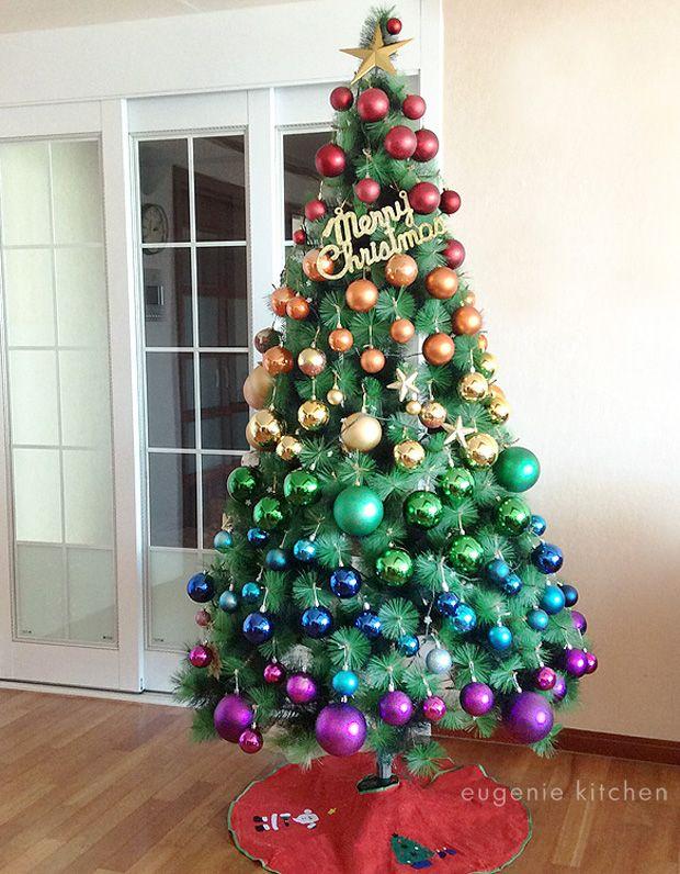 Rainbow Christmas Tree 2014 For The Home Rainbow Christmas Tree