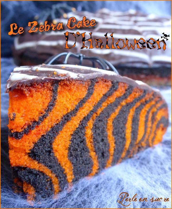 g teau d halloween facile zebra cake perle en sucre. Black Bedroom Furniture Sets. Home Design Ideas
