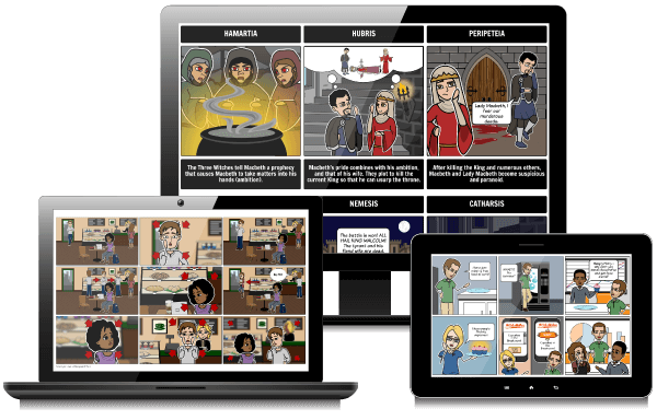 Storyboard That The World S Best Free Online Storyboard Creator Storyboard Creator Digital Storytelling Blended Learning