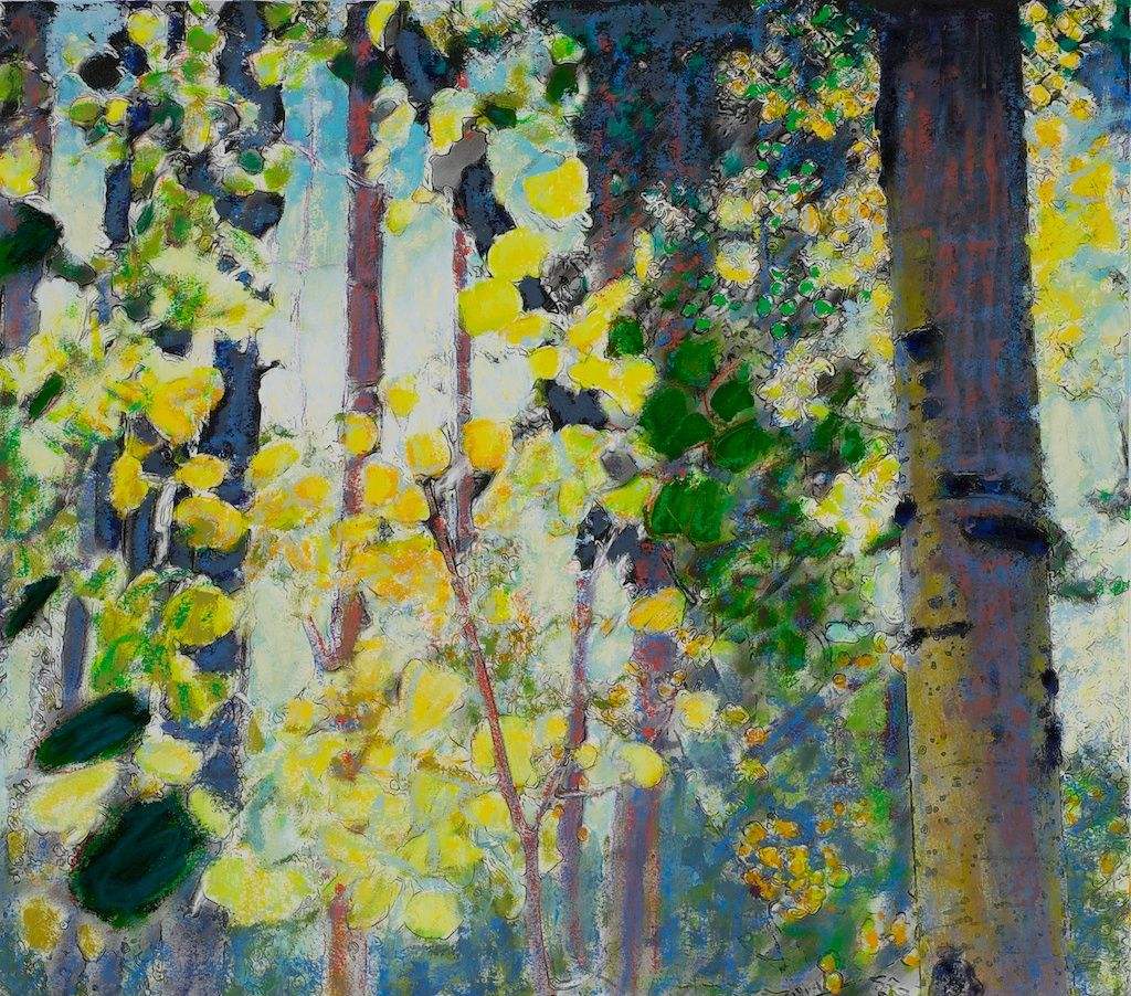 Autumn Aspens III   Rick Stevens