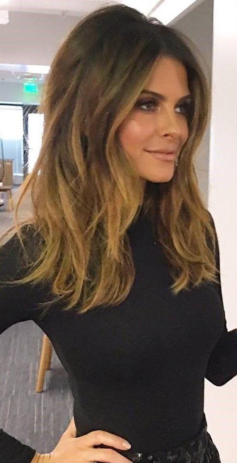 The 25 Best Maria Menounos Hair Ideas On Pinterest