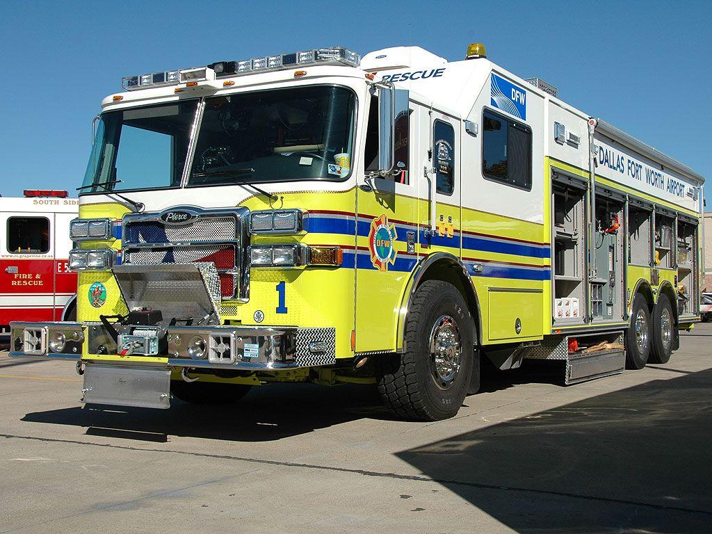 Dallas Fort Worth Airport, Hazmat Rescue 1 Fire trucks