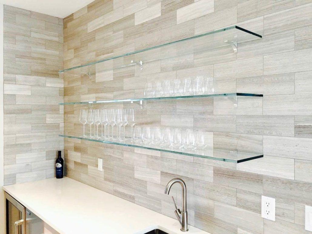6 Ideen für Glasregale für jede Zimmergestaltung #innendesign