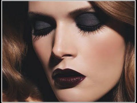 Makeup for Wine Lips or Dark Red Lips | BEAUTY DIY: Makeup ...
