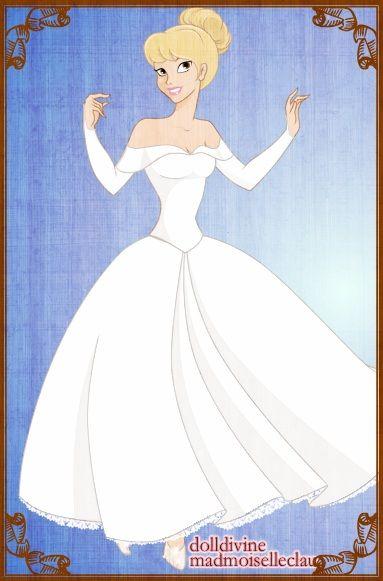 Marina Maitland Wedding Dress Cinderella Wedding Dress Cartoon Movie