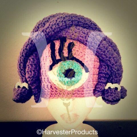 Disney Pixar Monsters, Inc. Celia Mae styled crochet hat by ...