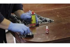 How To Fix Nail Polish Remover On A Wood Table Hunker Fix Nail Polish Wood Repair Nail Polish Remover
