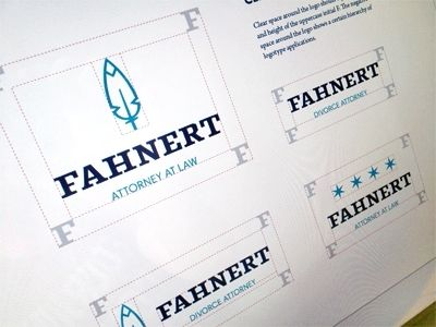 Dribbble - Fahnert Style Guide by Bill S Kenney