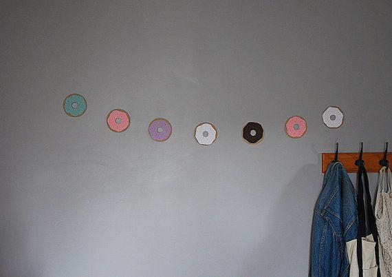 paper doughnut garland