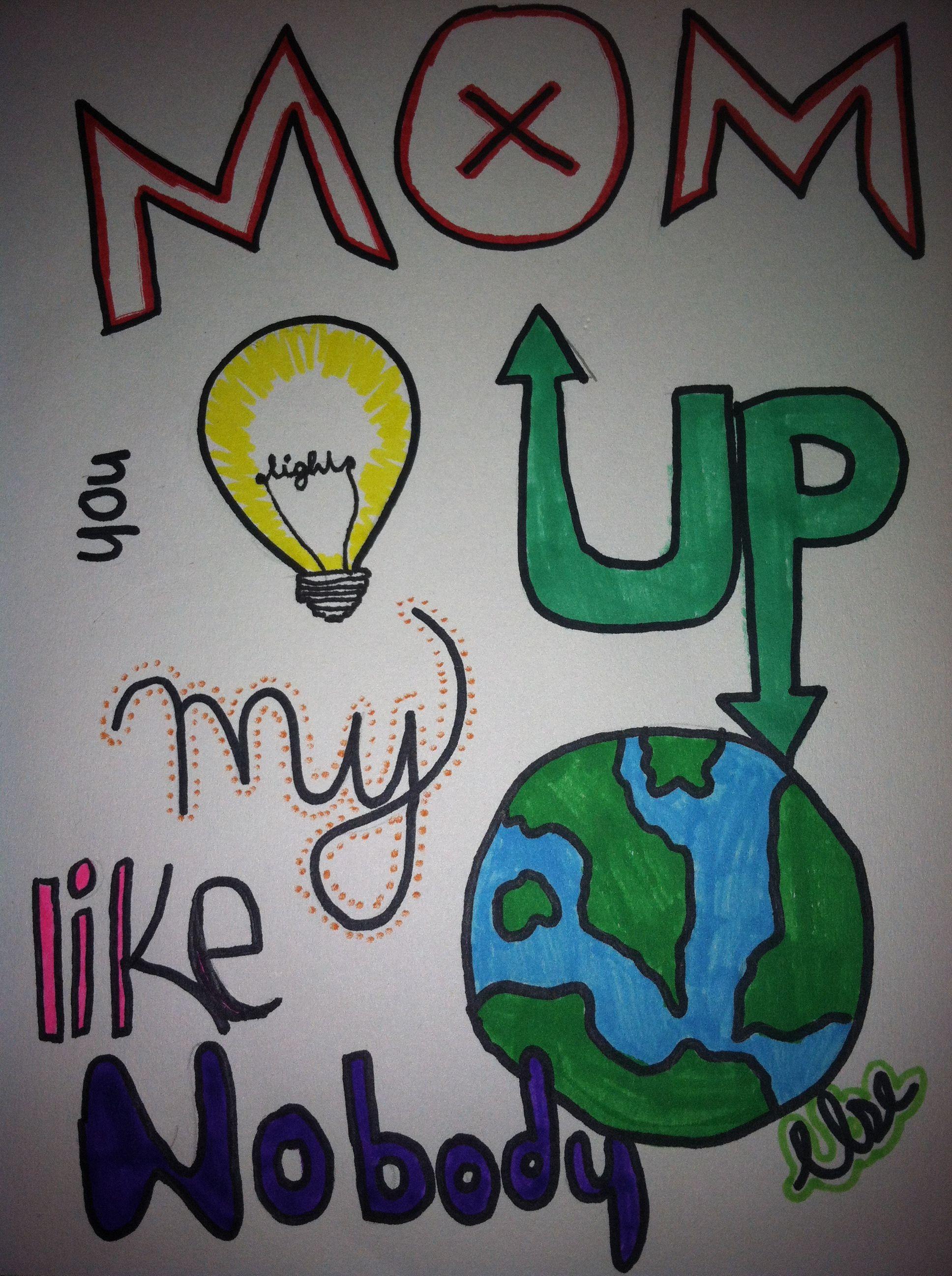2865dec7f784bac846b6e2338b913a9a » Cute Things To Draw For Your Mom