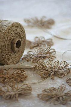DIY Tutorial - Wie man Schnurblumen macht #crochetformoney