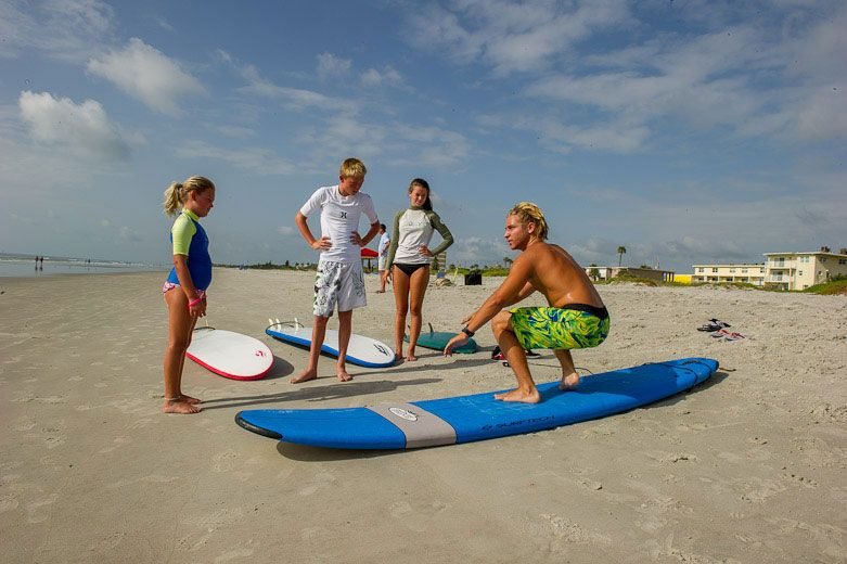 Surf Lessons Cocoa Beach Ben Jordan Bilt Surf Instructor With Students On Cocoa Beach Fl Cocoa Beach Attractions Cocoa Beach Surfing Cocoa Beach