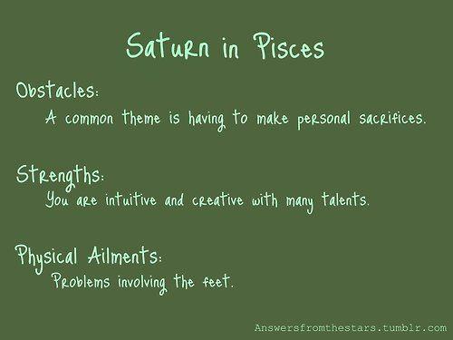 Saturn in Pisces | Pisces Wonderland | Astrology pisces, Zodiac