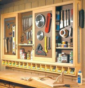 DIY Project Garage Storage and Organization Use a Pallet