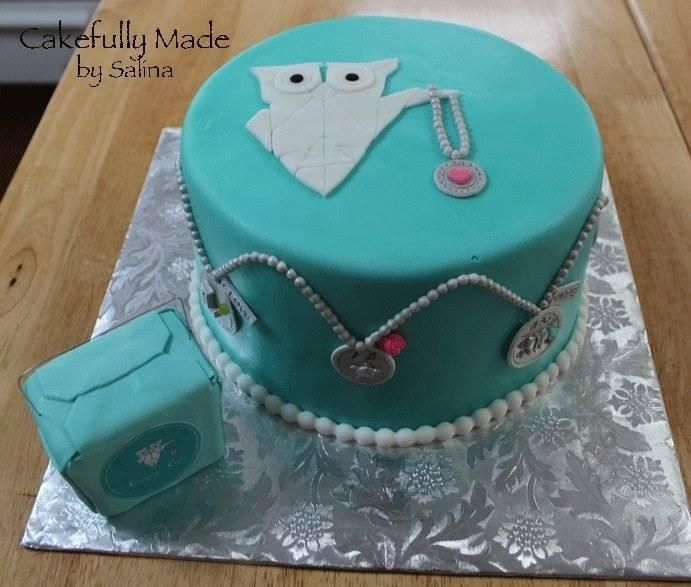 Origami Owl Birthday Cake Idea. Contact Me To Book A Birthday Party For Your Daughter Today That