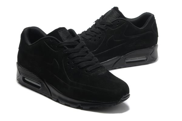 finest selection ae693 f9520 MensWomens Nike Air Max 90 VT Sneaker Shoes All Black