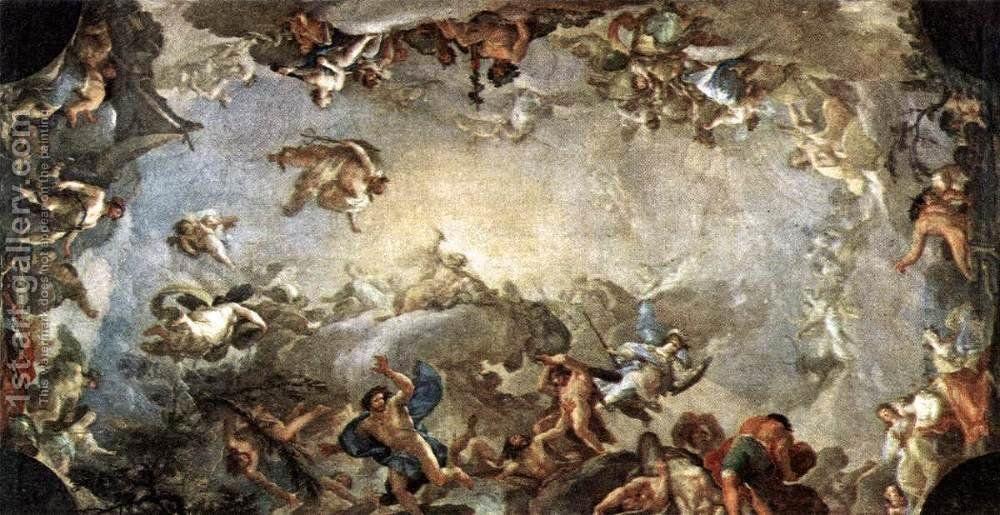 Olympus The Fall Of The Giants 1800 1st Art Gallery Greek Art Mythology Greek Gods And Goddesses Greece aesthetic desktop wallpaper