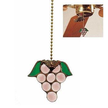 #Fan #Pulls Purple Glass Grape Pull # 18895 Shop --> http://www.rensup.com/Fan-Pulls/Fan-Pulls-Purple-Glass-Grape-Fan-Pull/pd/18895.htm
