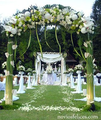 decoracion y ornamentacion de boda buscar con google