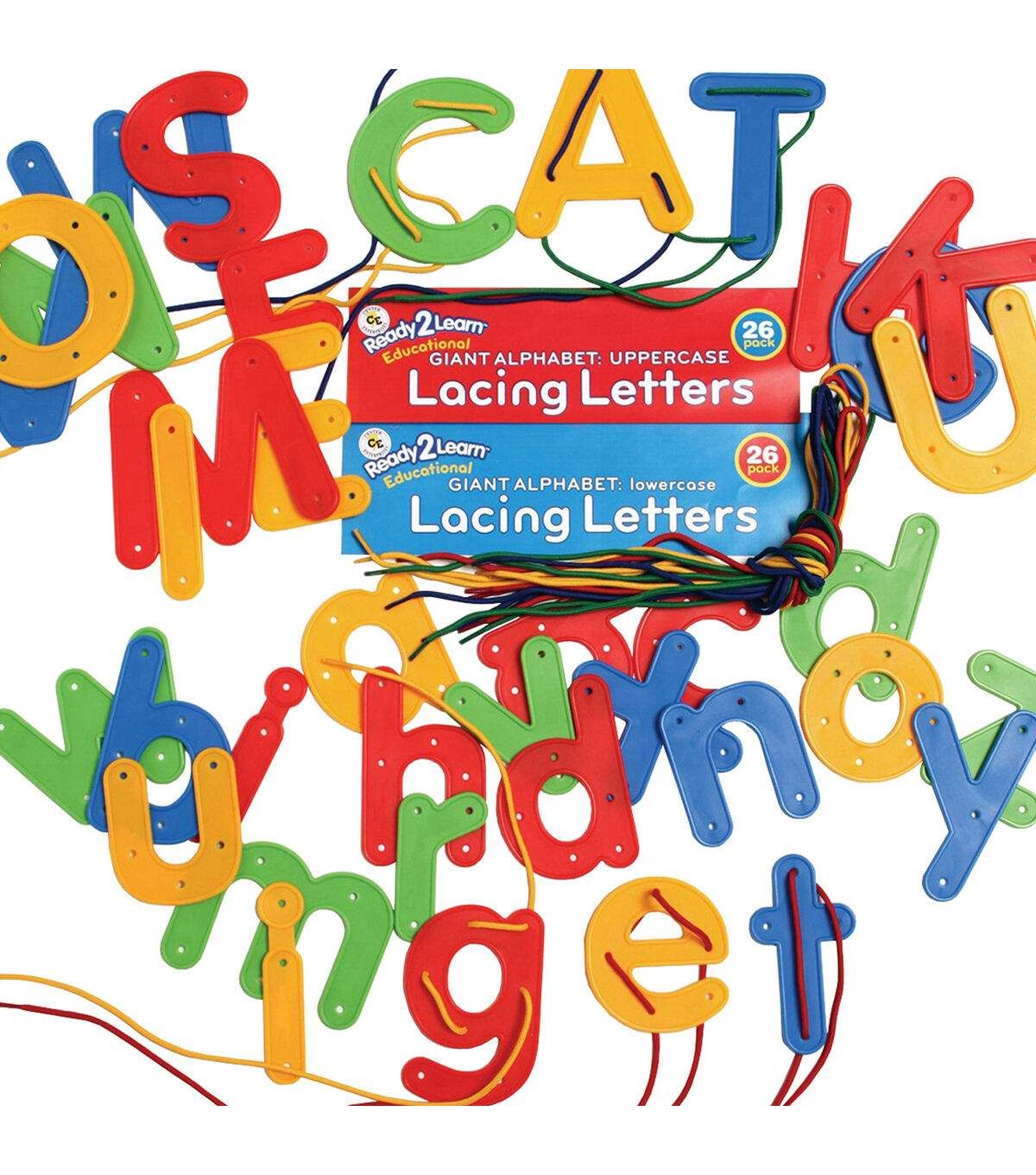 Ready2learn Lacing Letters Uppercase And Lowercase