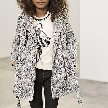 Blouson, veste IKKS l Mode Fille Eté 16   Mode, Coat, Blouson