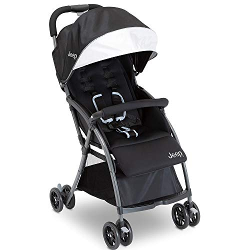 Jeep Ultralight Adventure Stroller, Dusk (Black) Easy
