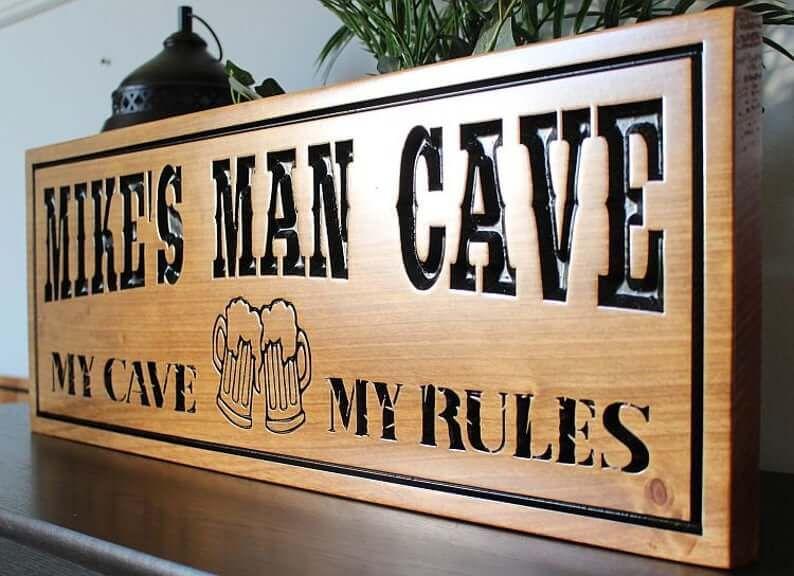 Personalised Bar Sign Garden Plaque Any Name Gift Bar Pub Backyard Bar Sign 32