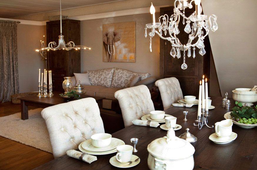 Landelijke romantiek | inrichting woonkamer | Pinterest