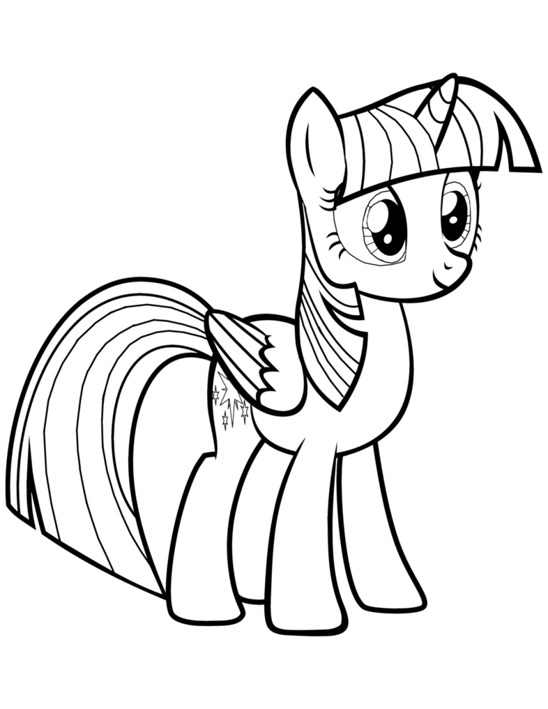 Twilight Sparkle Coloring Pages : twilight, sparkle, coloring, pages, Twilight, Sparkle, Coloring, Pages, Little, Coloring,, Unicorn, Pages,, Princess