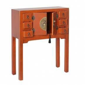 Consola japonesa naranja
