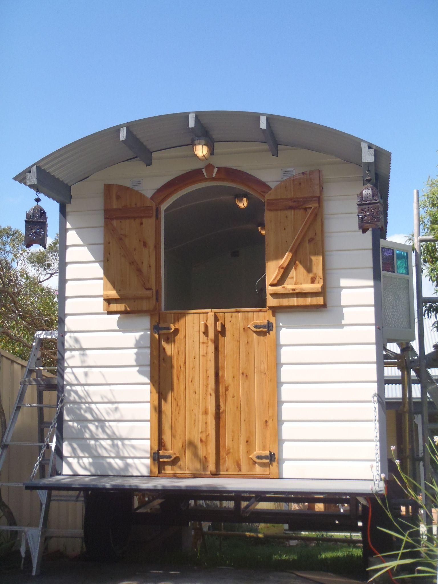 Designed and Built in Australia Beverley Shepherds Huts